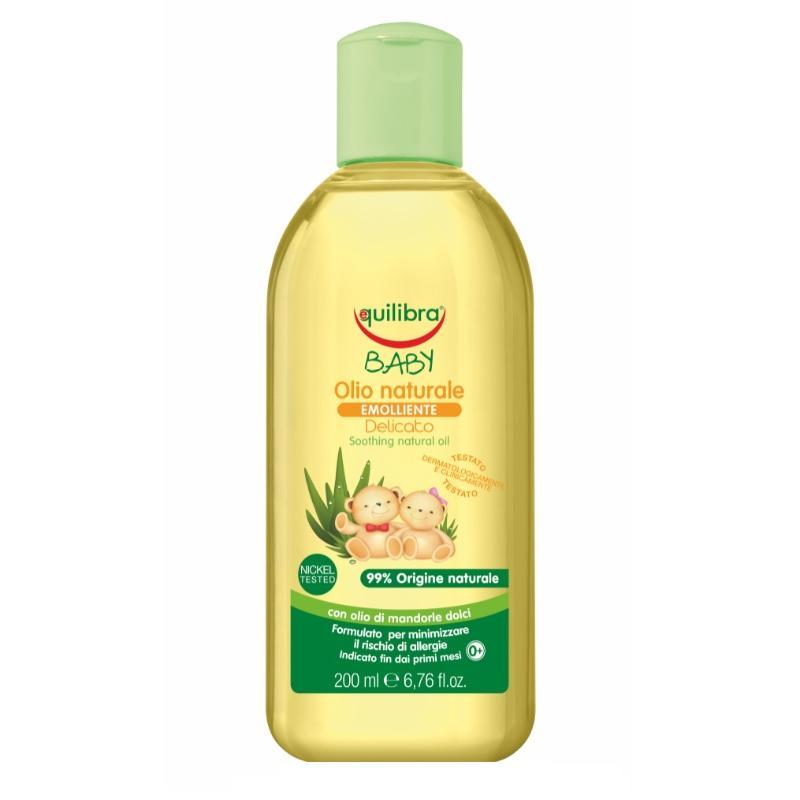 Baby Olio Naturale naturalna oliwka pielęgnacyjna 0m+ 200ml