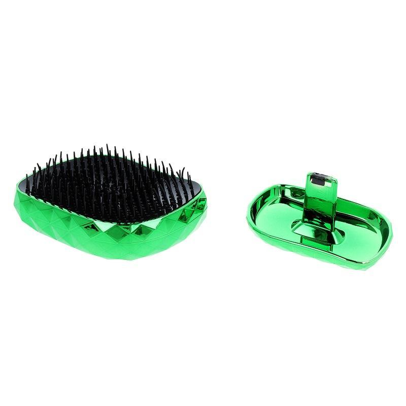 Spiky Hair Brush Model 4 szczotka do włosów Diamond Green