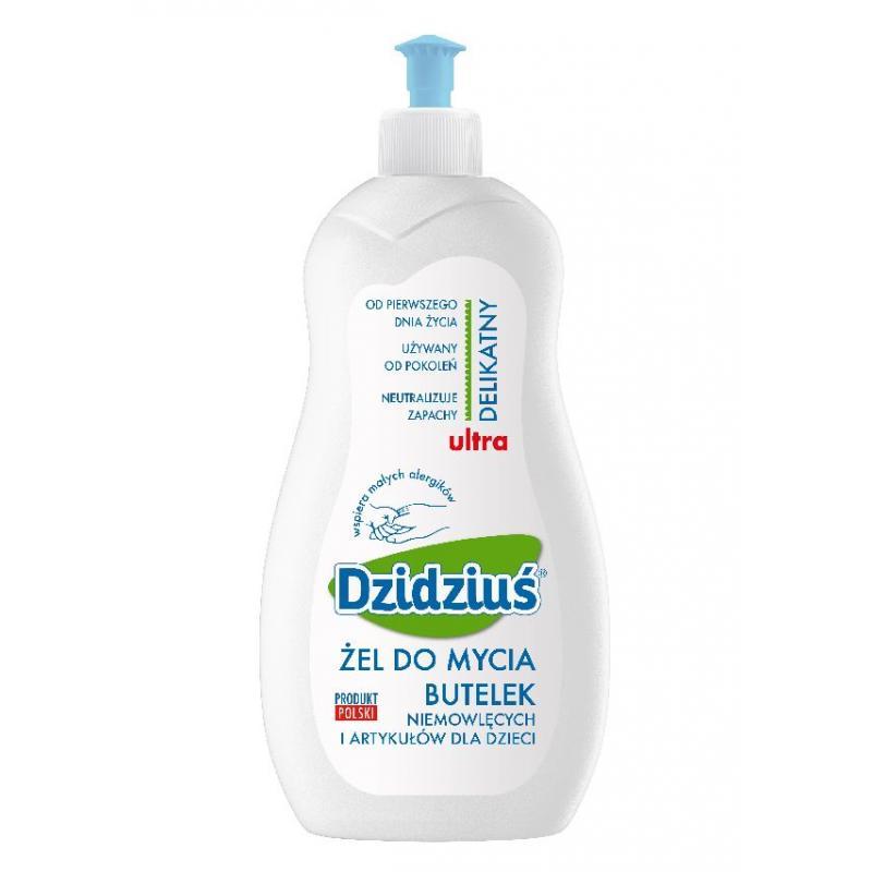Ultra delikatny żel do mycia butelek 500ml