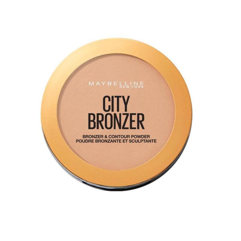 City Bronzer puder brązujący do twarzy 200 Medium Cool 8g