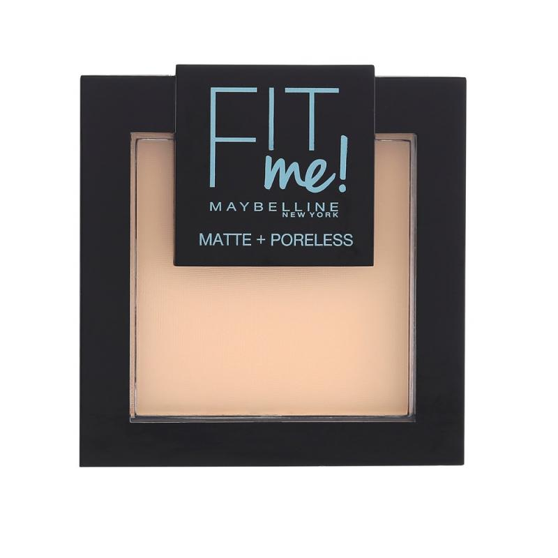 Fit Me Matte Poreless Pressed Powder puder matujący do twarzy w kompakcie 104 Soft Ivory 9g