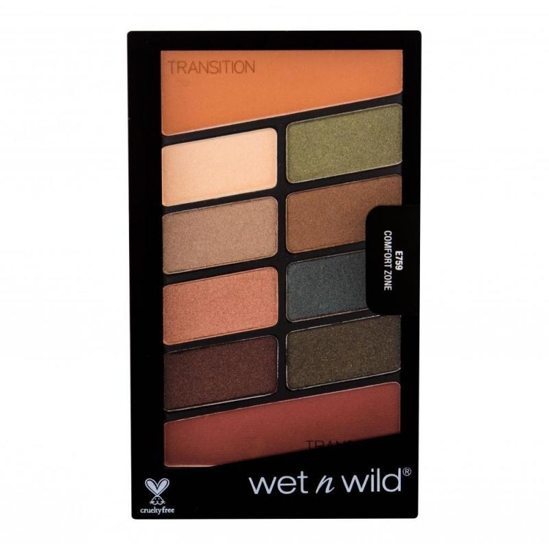 Color Icon Eye Shadow Palette paletka cieni do powiek Comfort Zone 8.5g
