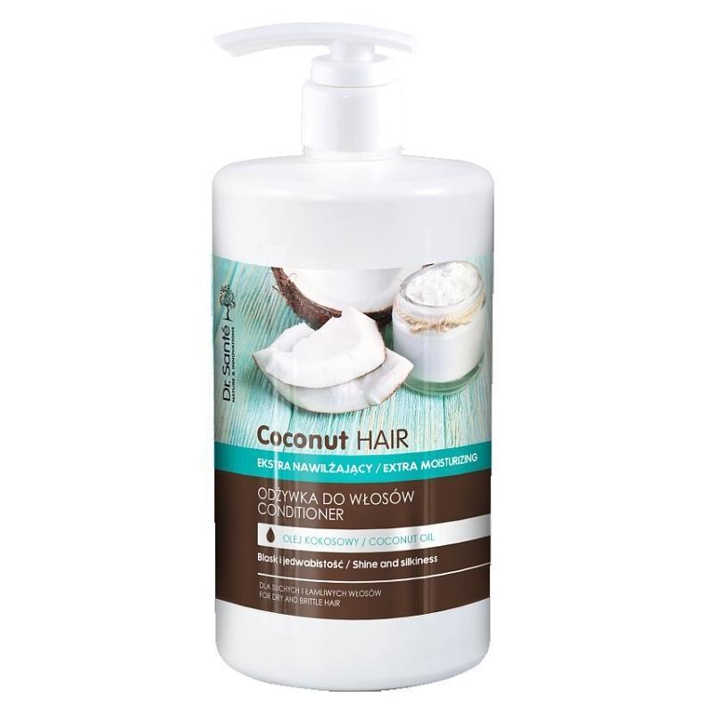 Coconut Hair Conditioner odżywka ekstra nawilżająca z olejem kokosowym dla suchych i łamliwych włosów 1000ml