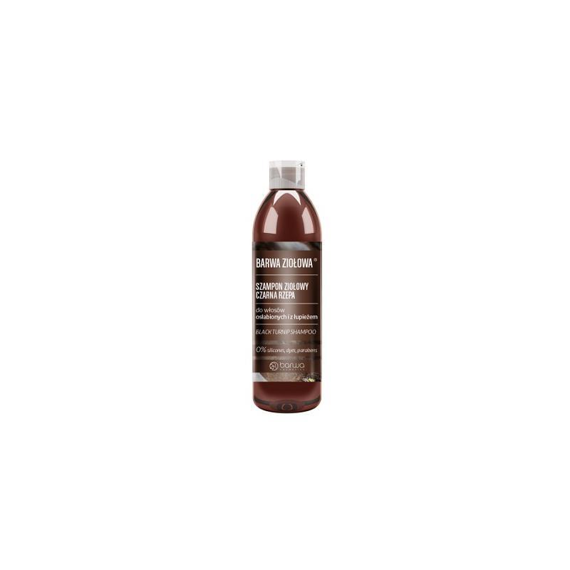 Ziołowa szampon ziołowy do włosów osłabionych i z łupieżem Czarna Rzepa 250ml