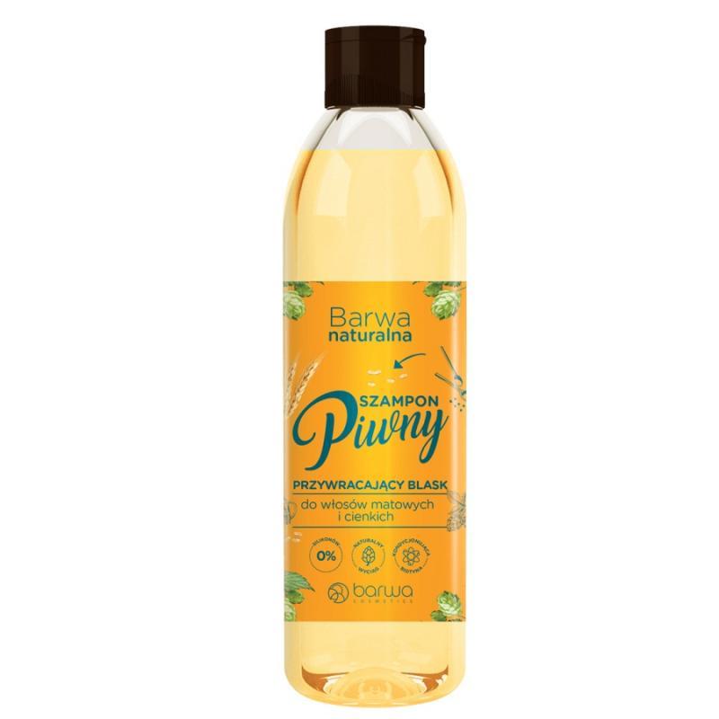 Naturalna szampon piwny do włosów matowych i cienkich 300ml
