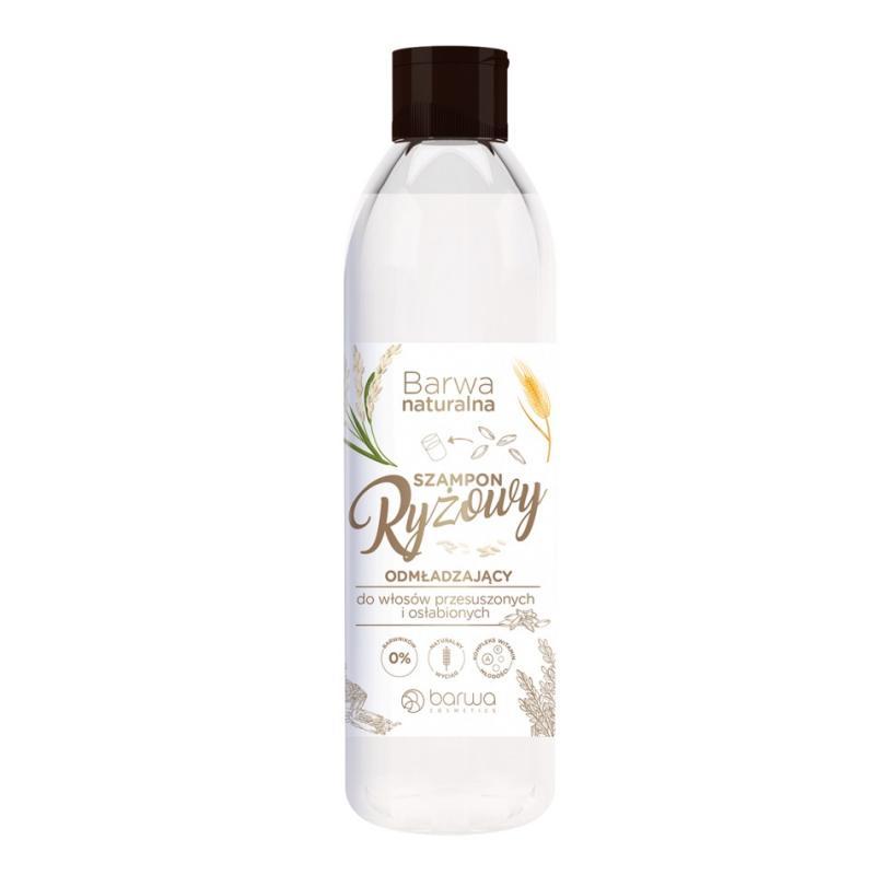 Naturalna ryżowy szampon do włosów przesuszonych i osłabionych 300ml