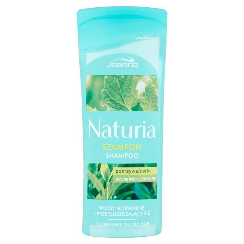 Naturia szampon do włosów normalnych i przetłuszczających się Pokrzywa i Zielona Herbata 200ml