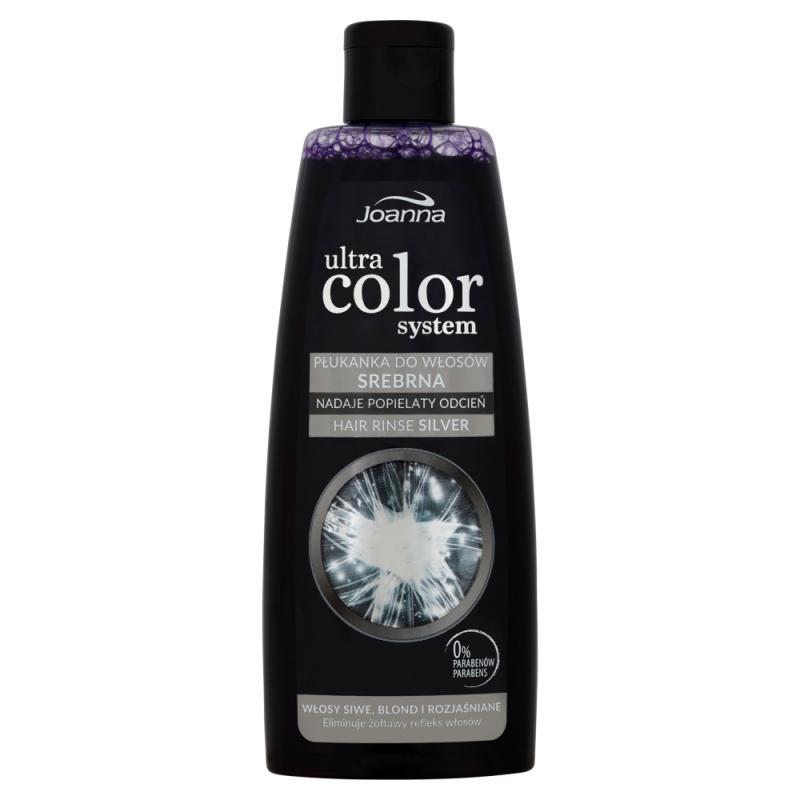 Ultra Color System srebrna płukanka do włosów siwych blond i rozjaśnionych 150ml