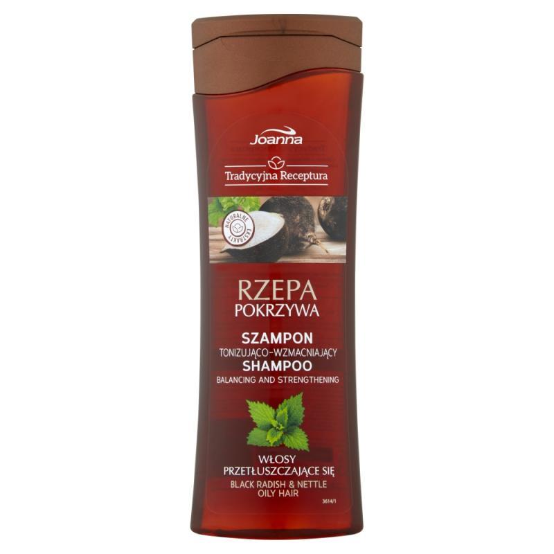 Tradycyjna Receptura Rzepa & Pokrzywa szampon tonizująco-wzmacniający 300ml