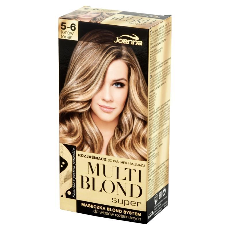 Multi Blond Super rozjaśniacz do pasemek i balejażu 5-6 tonów