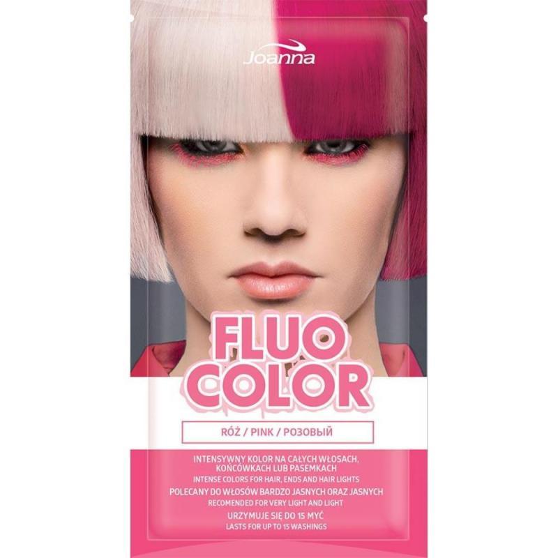 Fluo Color szamponetka koloryzująca Róż 35g