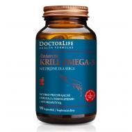 Antarctic Krill Omega-3 szybko przyswajalne omega-3 z fosfolipidami i astaksantyną suplement diety 90 kapsułek