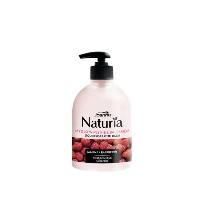 Naturia mydło w płynie z balsamem Malina 500ml