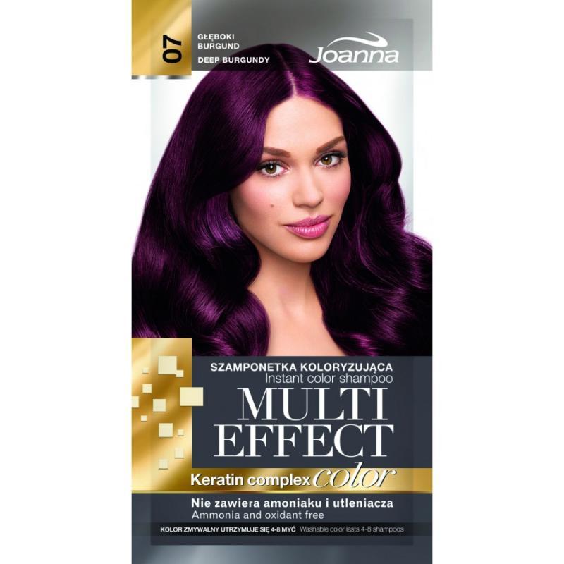 Multi Effect szamponetka koloryzująca 07 Głęboki Burgund 35g