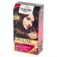 Deluxe Oil-Care Color farba do włosów trwale koloryzująca z mikroolejkami 750 Czekoladowy Brąz