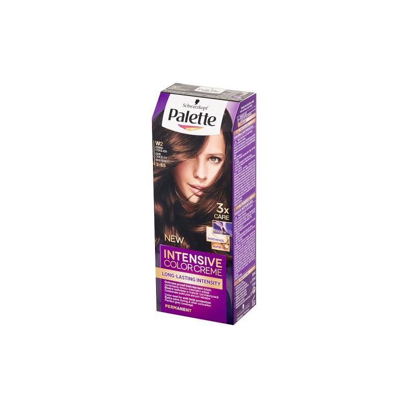 Intensive Color Creme farba do włosów w kremie W2 Dark Chocolate