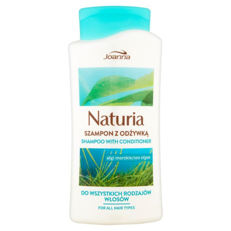 Naturia szampon z odżywką do wszystkich rodzajów włosów Algi Morskie 500ml