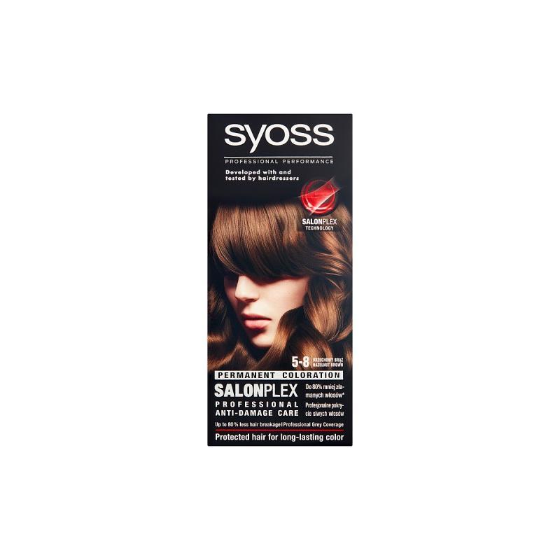 Classic Permanent Coloration farba do włosów trwale koloryzująca 5-8 Orzechowy Brąz