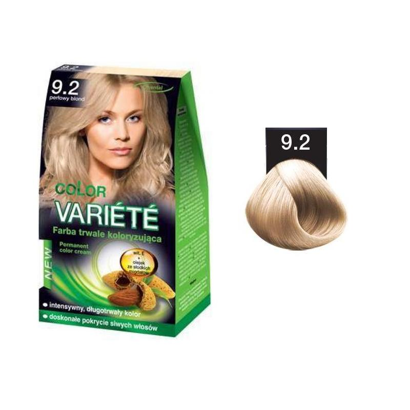 Variete Color Permanent Color Cream farba trwale koloryzująca 9.2 Perłowy Blond 50g