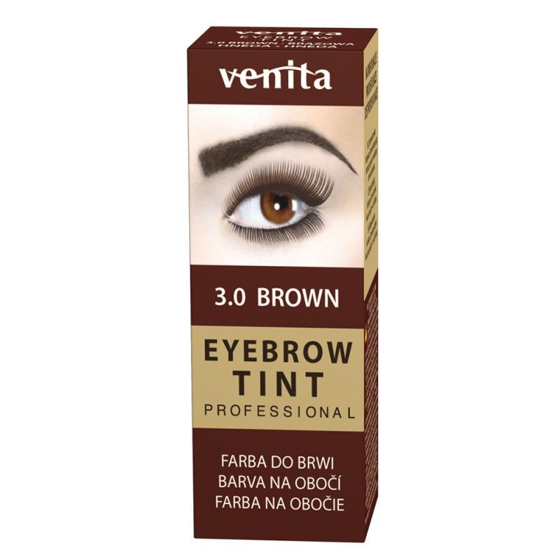 Professional Eyebrow Tint farba do brwi w proszku 3.0 Brown