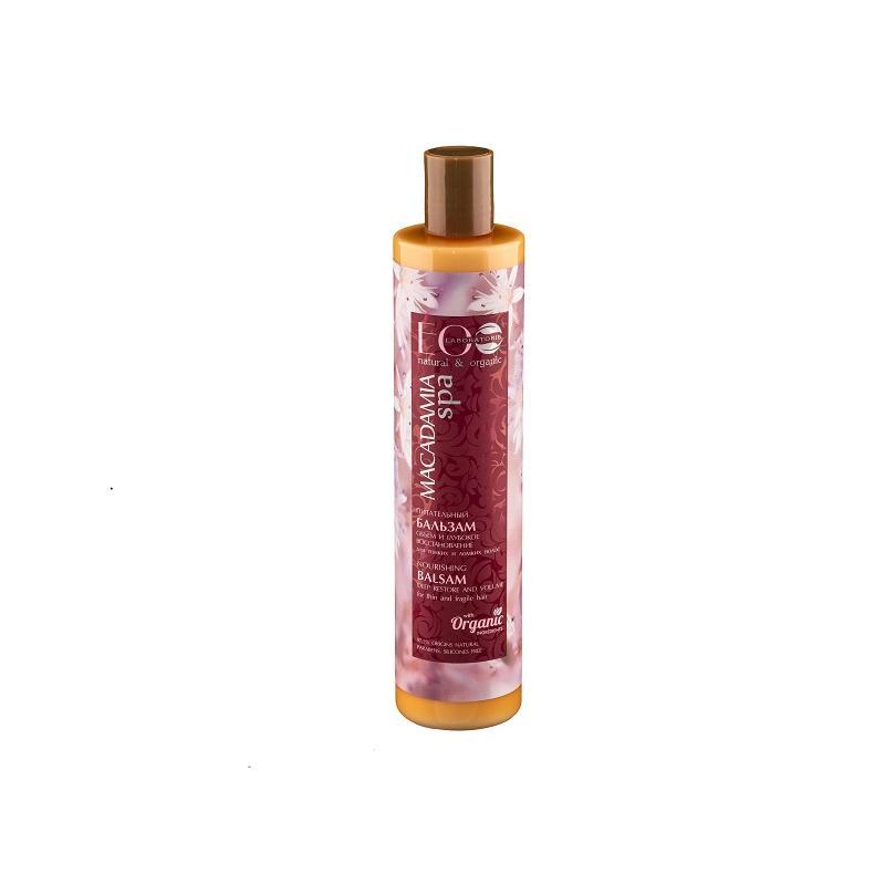 Macadamia Spa Nourishing Balm odżywczy balsam do cienkich i łamliwych włosów 350ml