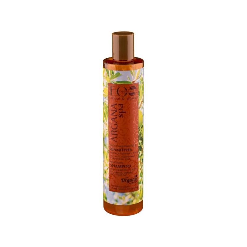 Argana Spa Restoring Shampoo szampon do włosów farbowanych i zniszczonych 350ml