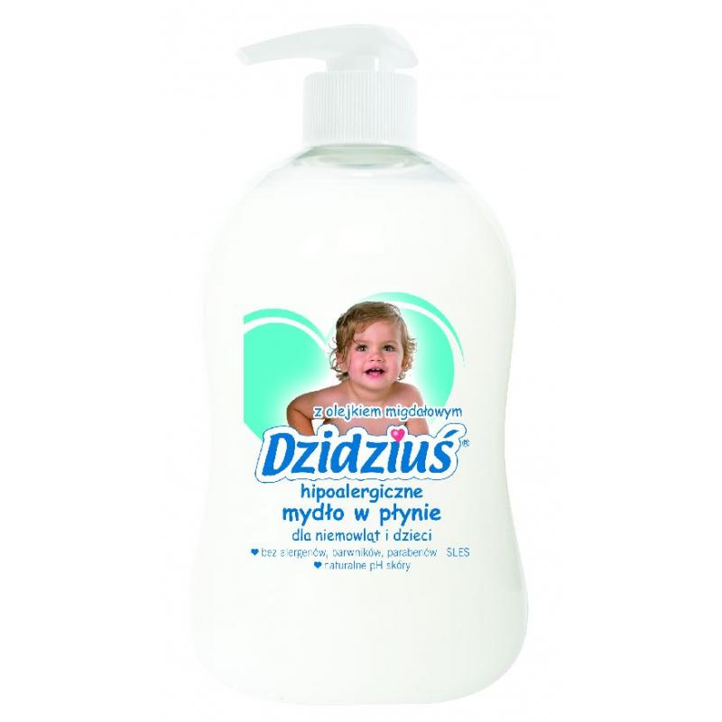 Hipoalergiczne mydło w płynie z olejkiem migdałowym 300ml