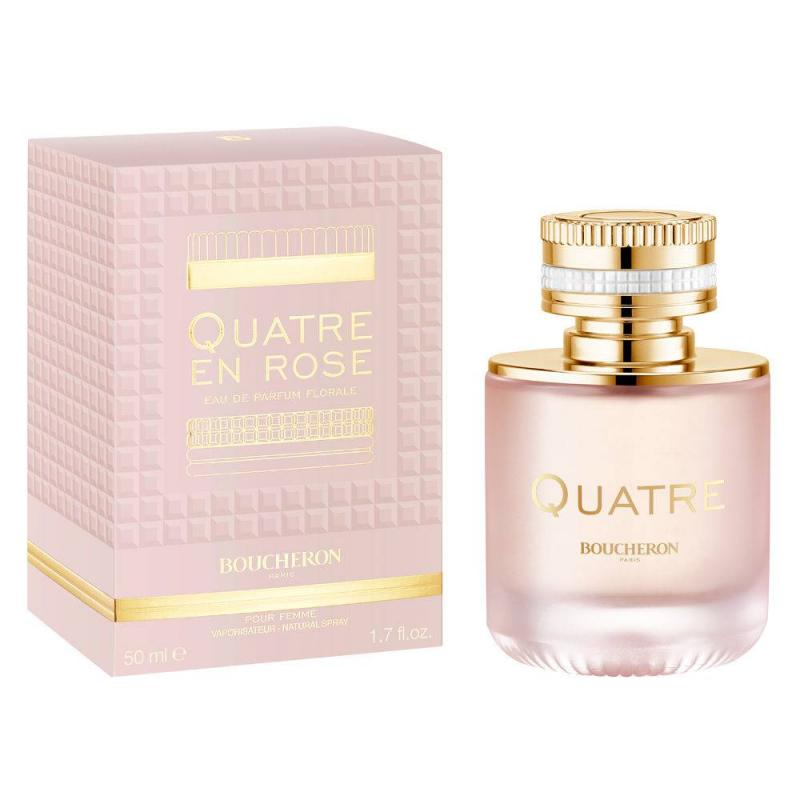 Quatre En Rose Florale woda perfumowana spray 50ml