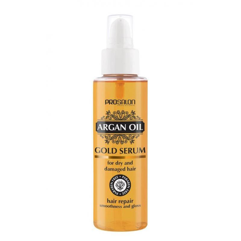 Prosalon Argan Oil Gold Serum Hair Repair serum do włosów z olejkiem arganowym 100ml