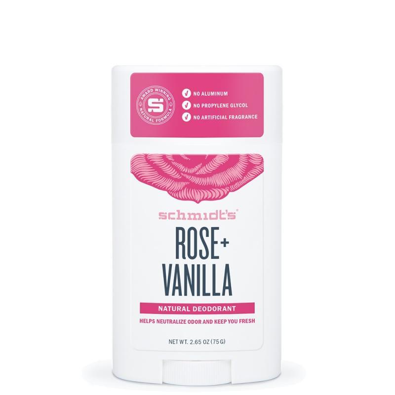 Natural Deodorant naturalny dezodorant w sztyfcie Róża & Wanilia 58ml