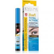 Eyebrow Therapy Professional 8w1 Total Action korektor stopniowo barwiący brwi z henną 10ml