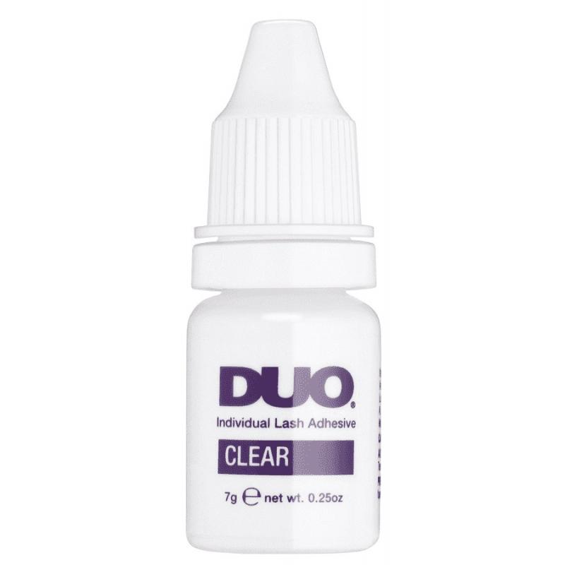 Duo Individual Lash Adhesive klej do kępek rzęs Clear 7g