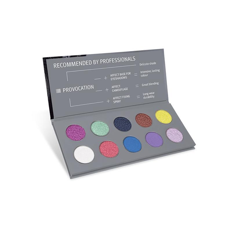 Provocation Pressed Eyeshadow Palette paleta cieni prasowanych 10x2.5g