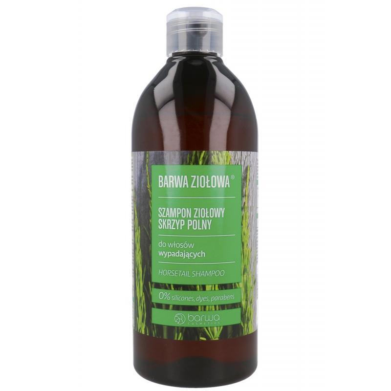 Ziołowa szampon ziołowy do włosów wypadających Skrzyp Polny 480ml