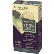 Herbal Hair Color ziołowa farba do włosów 1.11 Czerń Indygo 100g