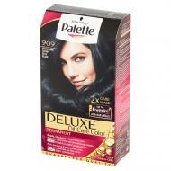 Deluxe Oil-Care Color farba do włosów trwale koloryzująca z mikroolejkami 909 Granatowa Czerń