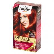 Deluxe Oil-Care Color farba do włosów trwale koloryzująca z mikroolejkami 678 Rubin