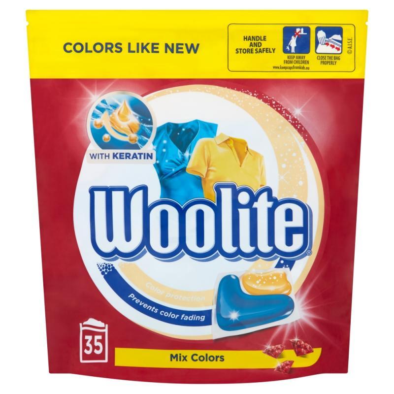 Mix Colors kapsułki do prania ochrona koloru z keratyną 35szt