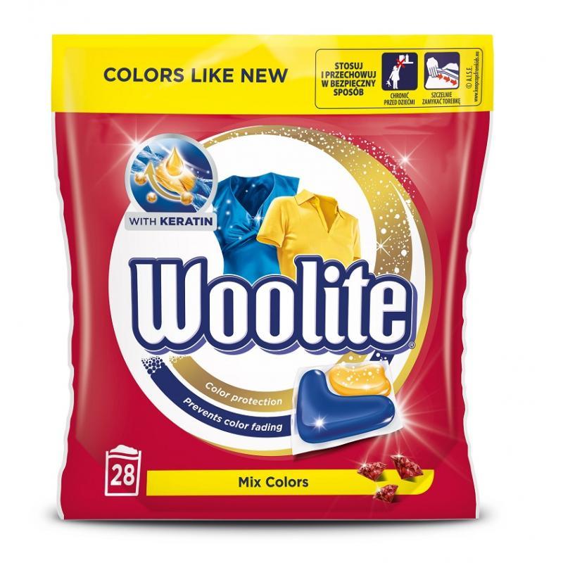 Mix Colors kapsułki do prania ochrona koloru z keratyną 28szt