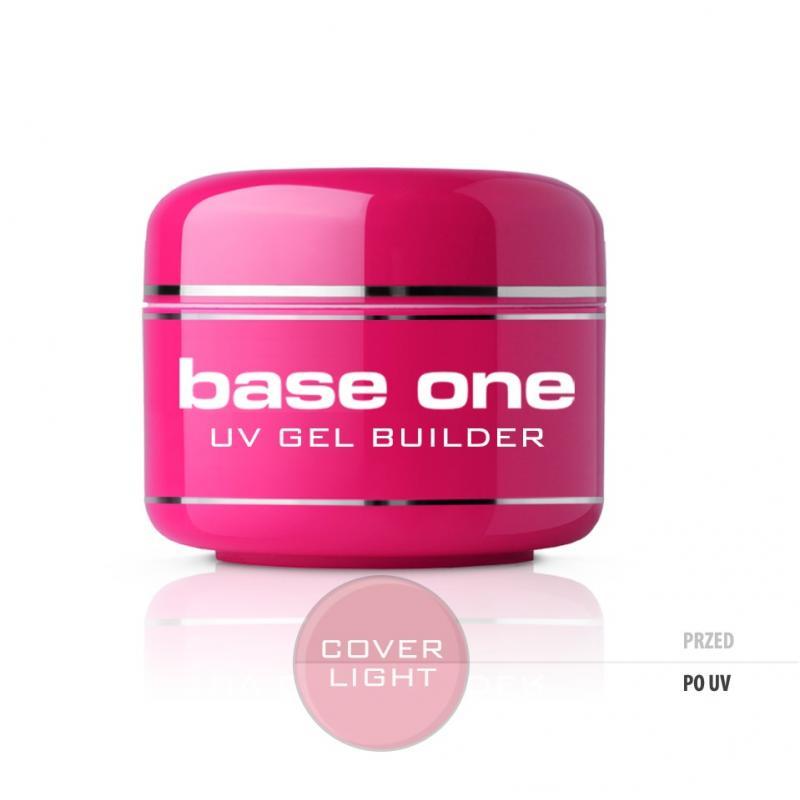 Gel Base One Cover Light maskujący żel UV do paznokci 30g