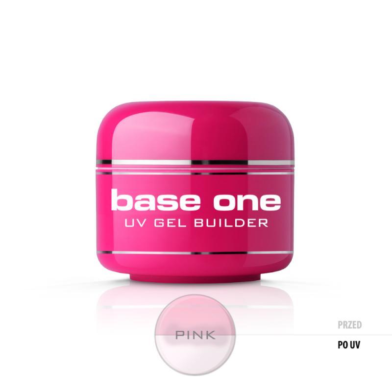 Base One Pink żel budujący do paznokci 5g