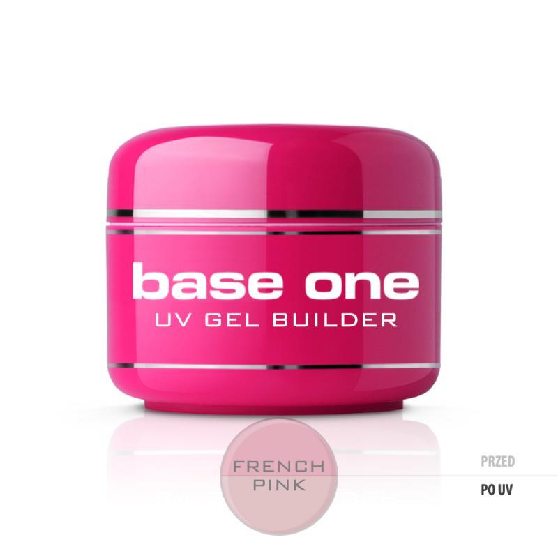 Base One French Pink żel budujący do paznokci 30g