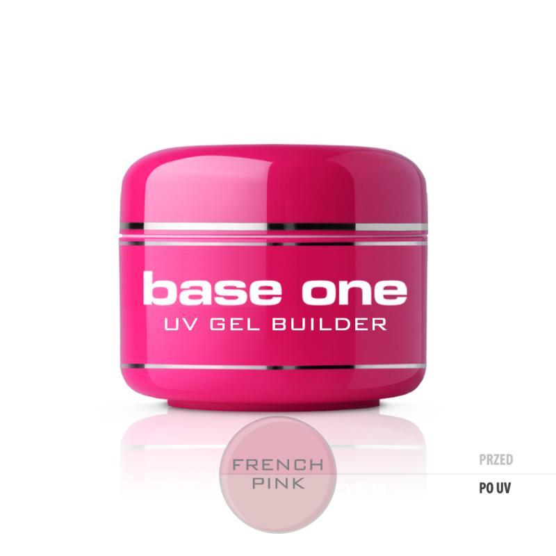 Base One French Pink żel budujący do paznokci 15g