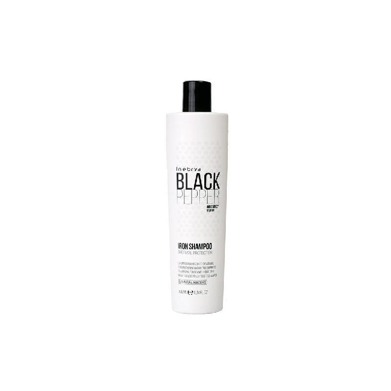Black Pepper Iron Shampoo wzmacniający szampon nawilżający do włosów 300ml