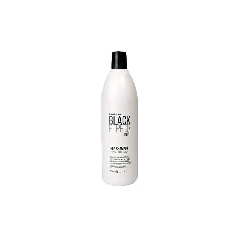 Black Pepper Iron Shampoo wzmacniający szampon nawilżający do włosów 1000ml