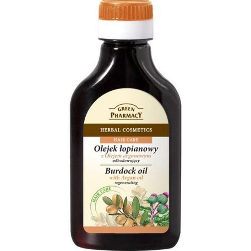 Burdock Oil olejek łopianowy odbudowujący Olej Arganowy 100ml