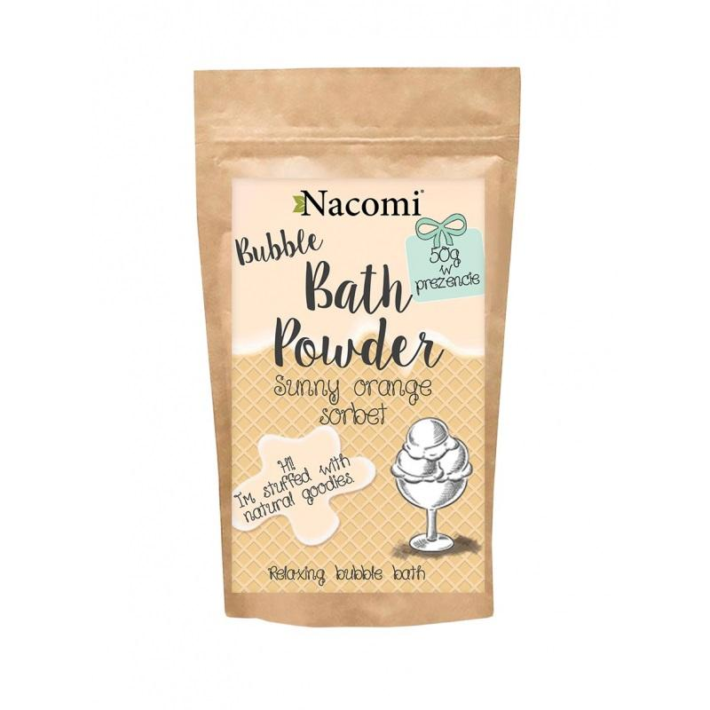 Bubble Bath Powder puder do kąpieli Pomarańczowy Sorbet 150g