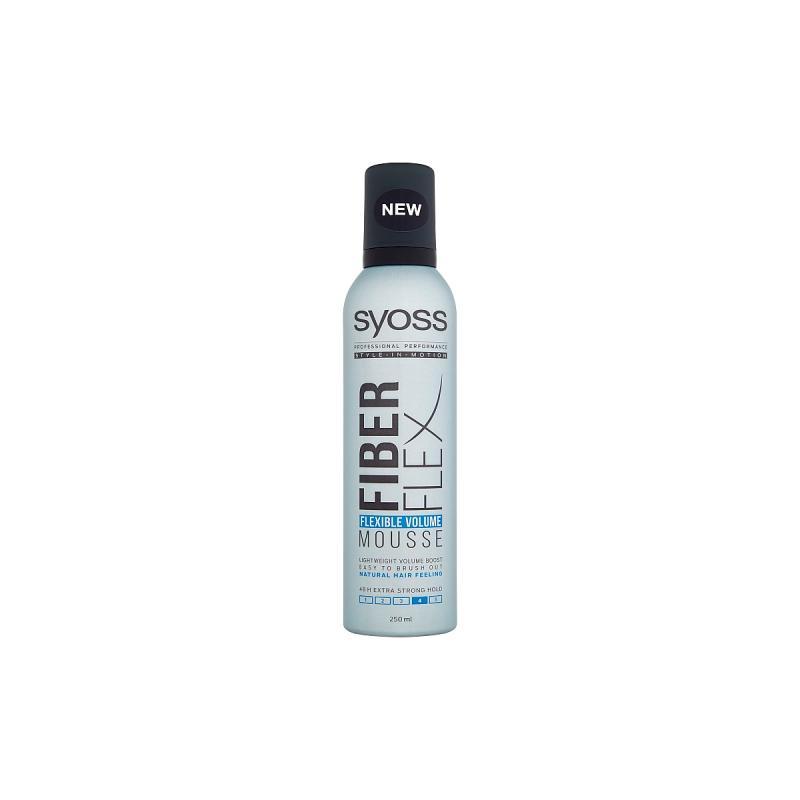 Fiberflex Flexible Volume Mousse pianka zwiększająca objętość włosów Extra Strong 250ml