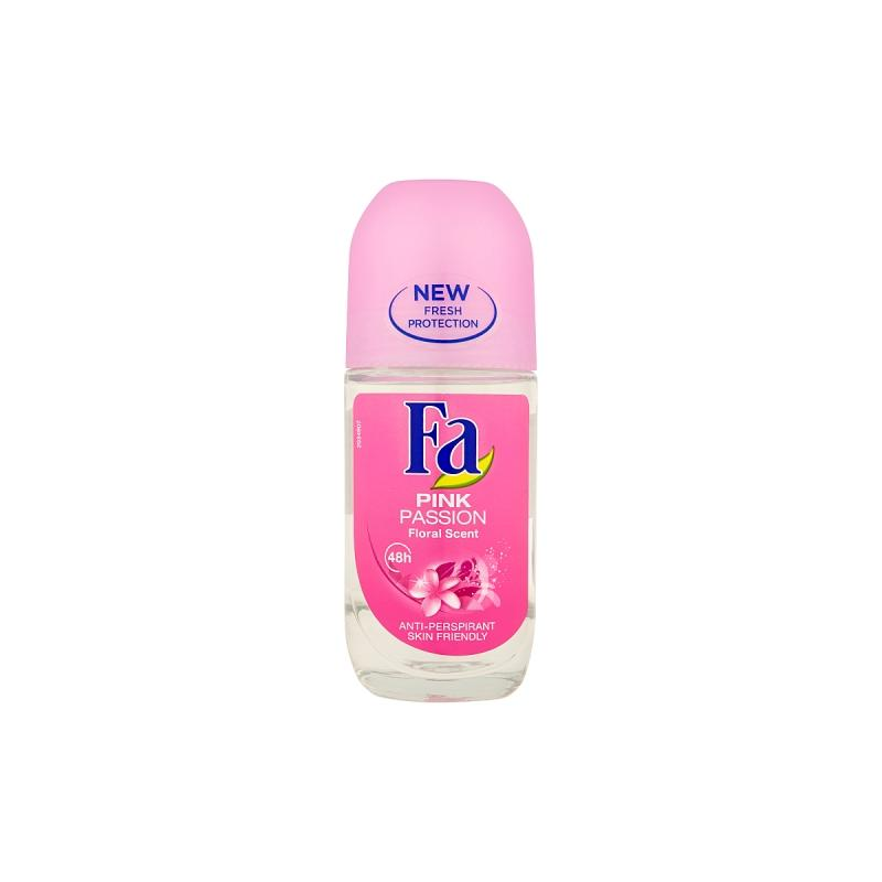 Pink Passion Antiperspirant Roll-on antyperspirant w kulce Floral Scent 50ml