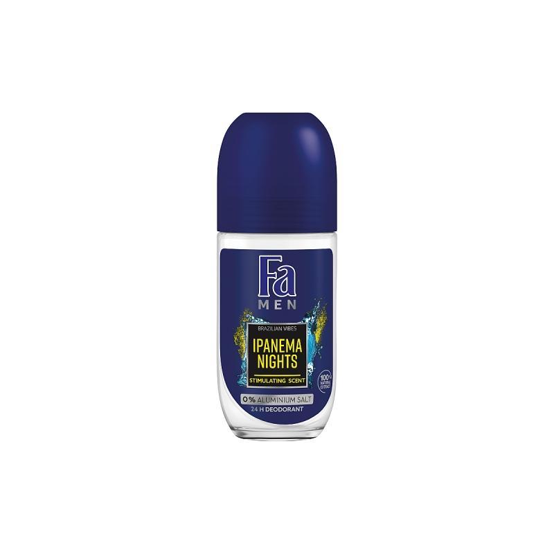 Men Brazilian VibesIpanema Nights Roll-On Deodorant dezodorant w kulce dla mężczyzn 150ml